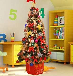 麥瑞1.5米聖誕樹套餐150cm豪華加密聖誕節裝飾聖誕樹套裝飾樹