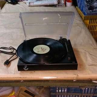 黑膠唱片機 復古電唱機 紅寶石唱針