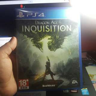 PS4 The Division & Dragon Age Inquisition
