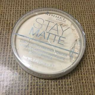 (PL) Rimmel Stay Matte Pressed Powder