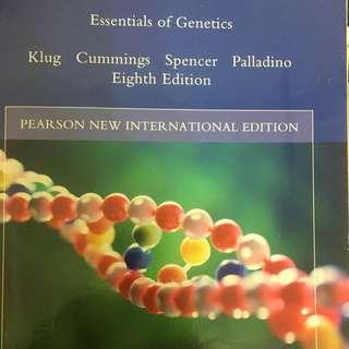 遺傳學課本