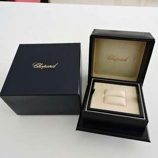 🚚 真品 CHOPARD 蕭邦 大型 戒盒 戒指盒 珠寶盒 首飾盒