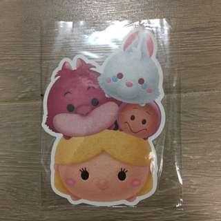 Disney Tsum Tsum Alice In Wonderland Postcard