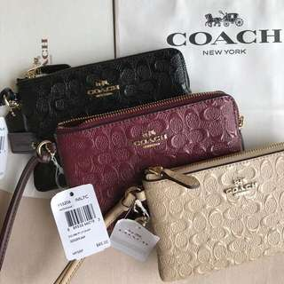 Authentic Coach Wristlets from the US