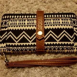 AEROPOSTALE Long Aztec Wallet/Wristlet