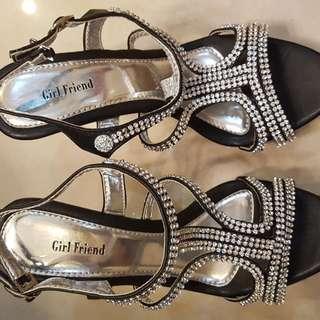 Girlfriend Glittering Heels
