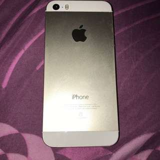 Iphone 5s 16gb Gold second