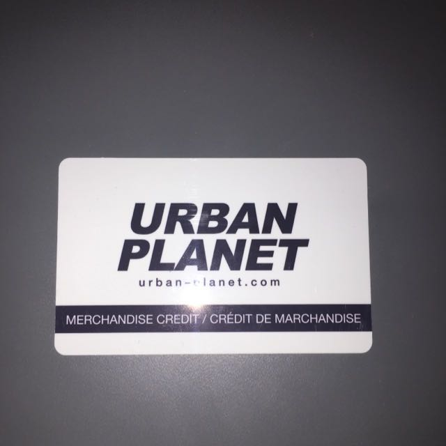 $70 Urban Planet Gift Card for 25% off