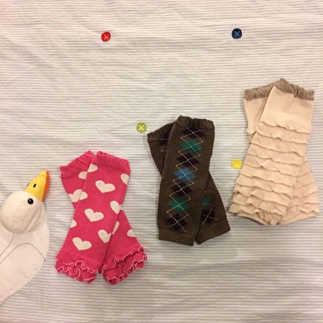 私心推薦女幼童襪套三件組