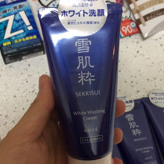 日本代購 雪肌粹 洗面乳