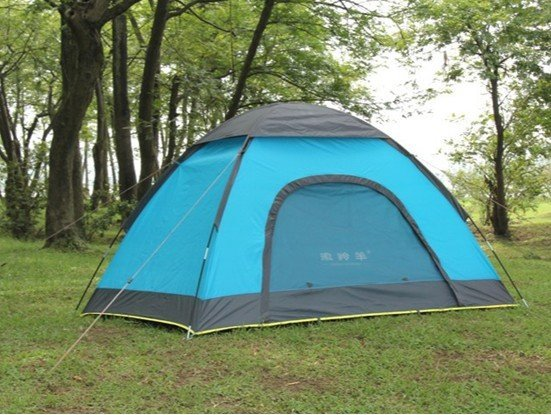 徽羚羊 戶外野營雙人單層情侶帳篷 精品高檔防雨雙人露營帳篷 超輕便攜,實惠好用