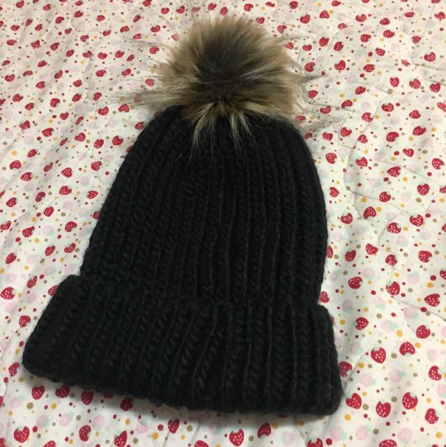 毛球針織毛帽 ✨💕熱賣款 歐美時尚 韓妞必備