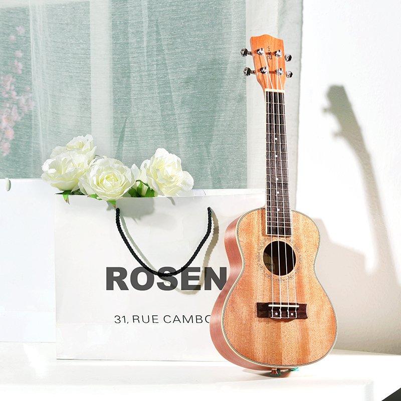 你我吉他琴行 盧森正品尤克裏裏ukulele23寸四弦小吉他夏威夷烏克麗麗兒童吉他 旅行小吉他 純手工精制 夏威夷風情