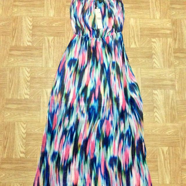 Accessorize Chiffon Maxi Dress