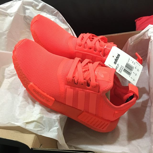 buy online 8ab9e a8667 Adidas NMD R1 Triple Red UK6 US6.5