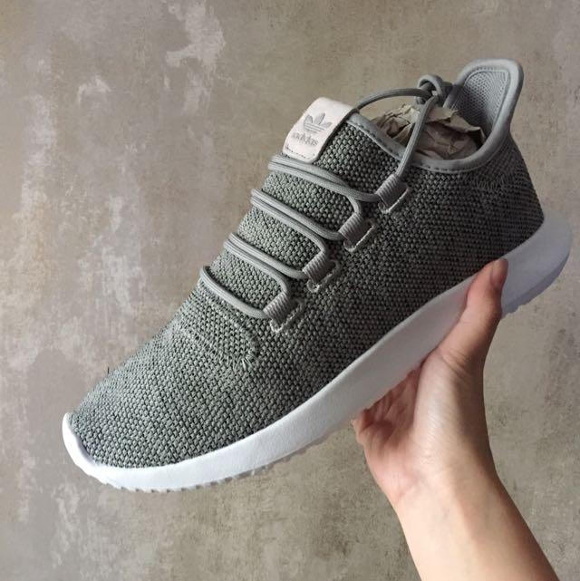 Adidas Tubular Shadow 灰 男 9號