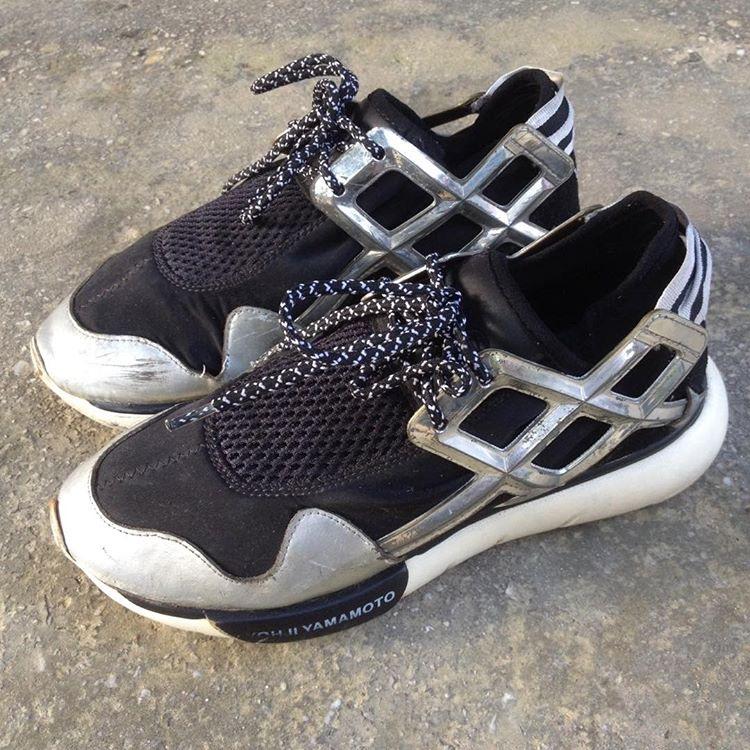 Adidas Y 3 Y3 Qasa Women Size 37 Preloved Fesyen Wanita Sepatu Di