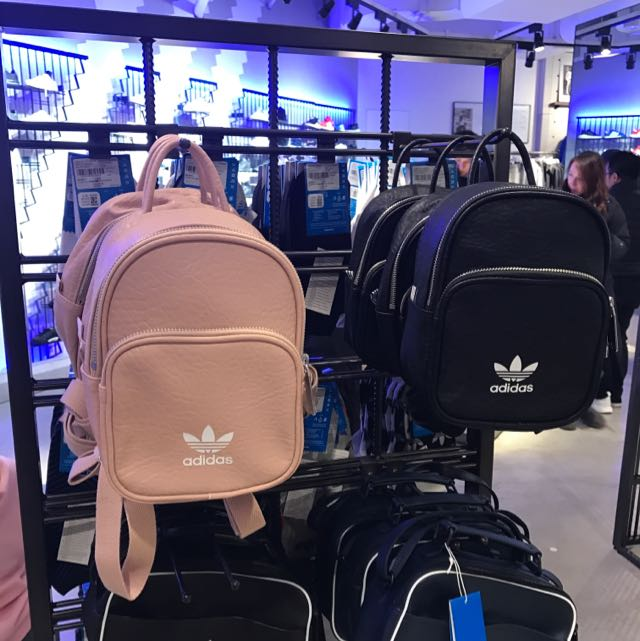 b19dcd7bdf0 Authentic Japan Adidas Original Nude Pink Beige Mini Backpack Bag, Women s  Fashion, Bags   Wallets on Carousell