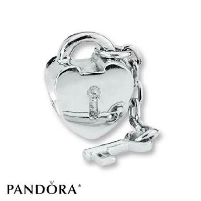 Authentic Pandora Key To My Heart Charm