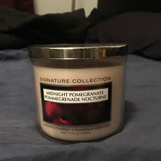Bath & Body 3 Wick Candles