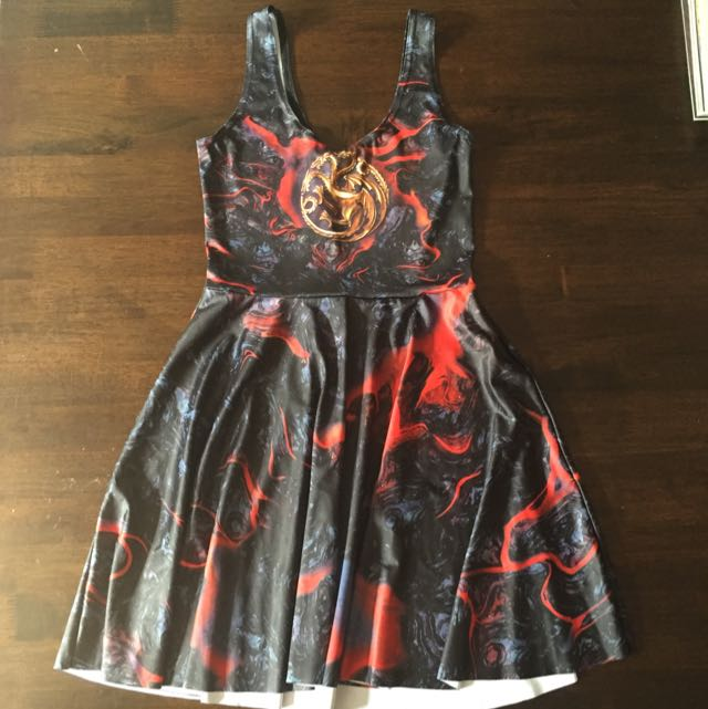 Blackmilk Game Of Thrones Skater Dress