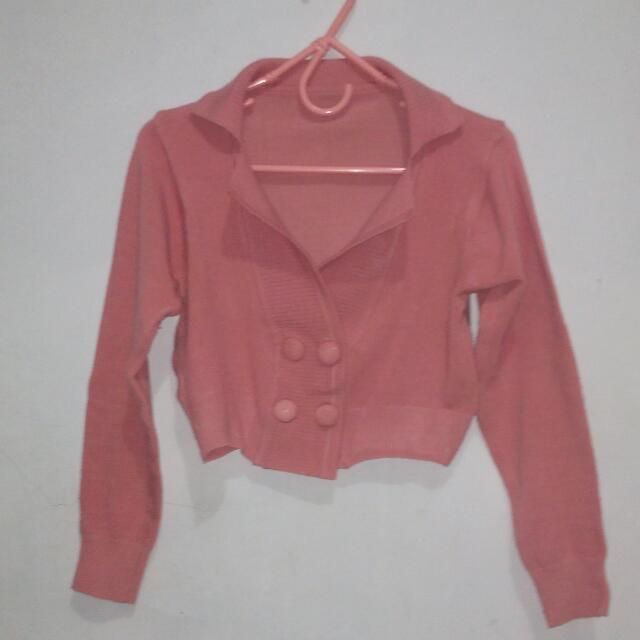 #harga suka2..Bolero Rajut Pink