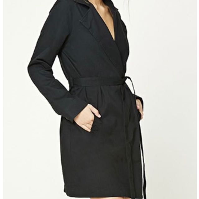 Make Me An Offer-- Brand New With Tags F21 Belted Wrap Jacket (SMALL)