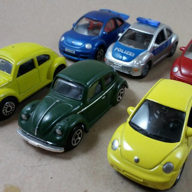 Bug Infestation! VW Beetle Toy Cars Set