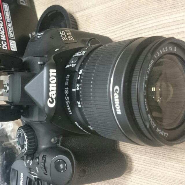 Canon 550D+18-55mm
