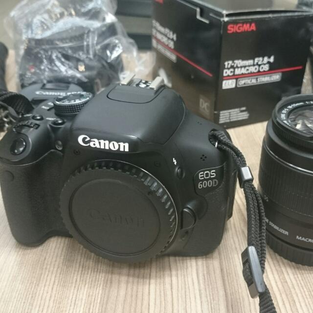 Canon 600D +18-55mm
