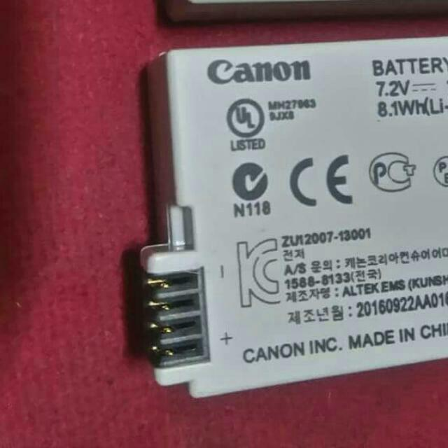 Canon battery Pack