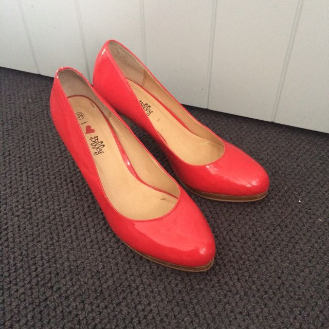 Classic Red Pumps