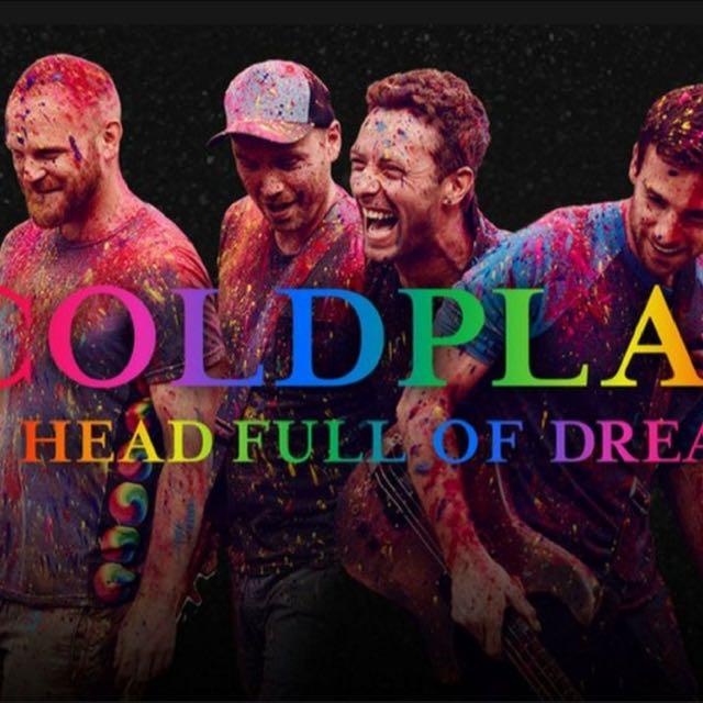 Coldplay - A Head Full Of Dreams 1 April 2017