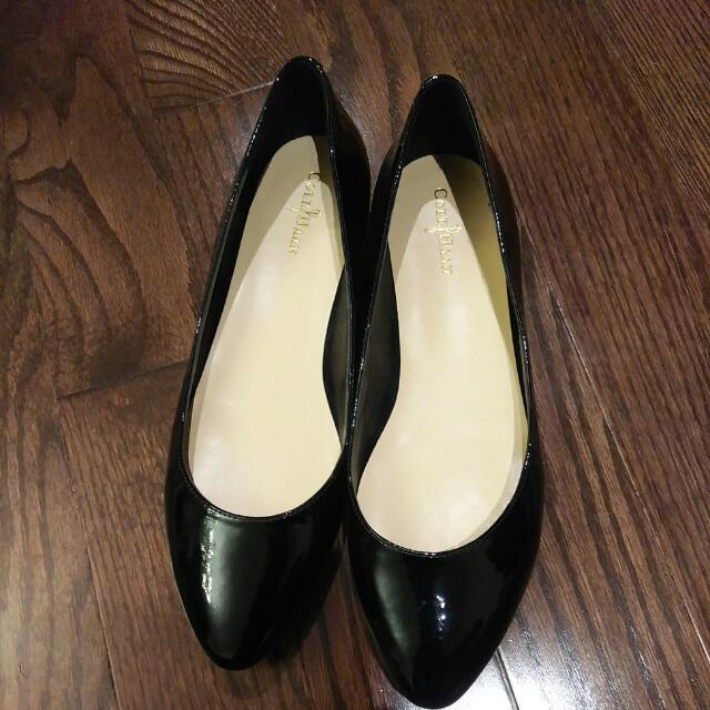 Cole Hann Patent Leather Flats