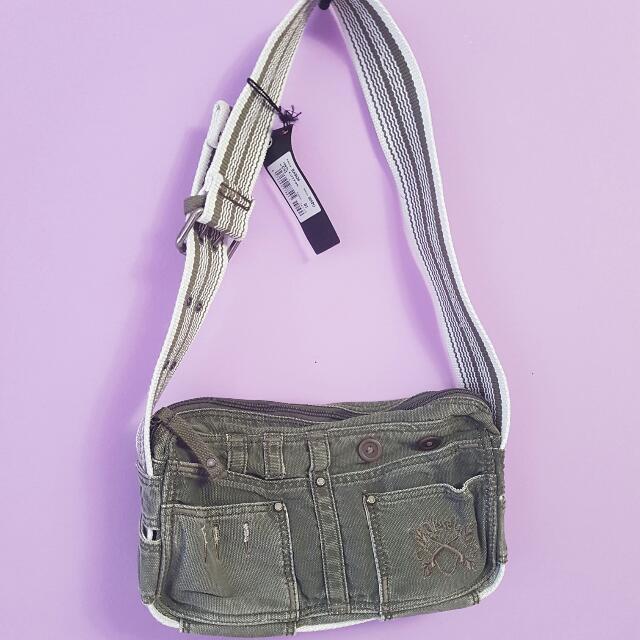 Diesel Denim Bag