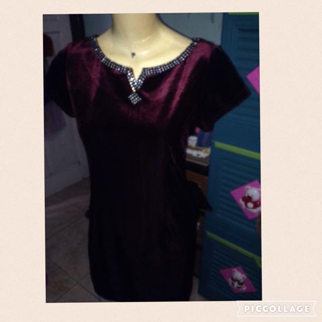 (REPRICE)Bludru Dress