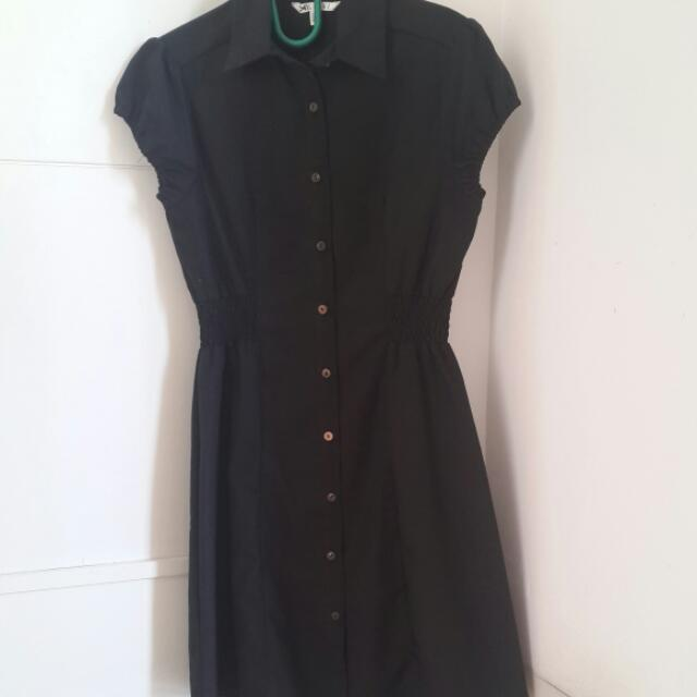 Dress Kerja Black