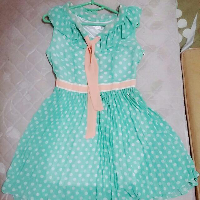 Polka Dress ( like NEW )