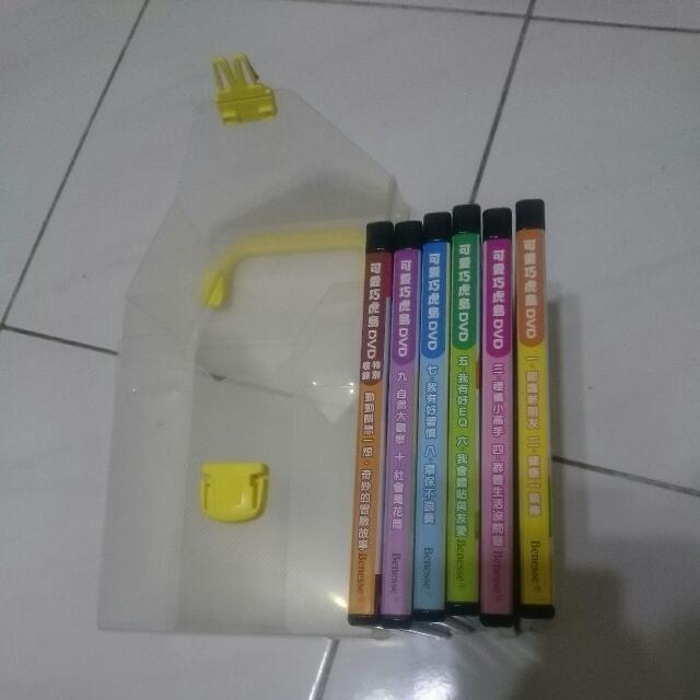 可愛巧虎島DVD  (包含郵局掛號 運費)