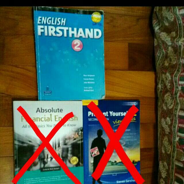 外語系書籍,English firsthand 2
