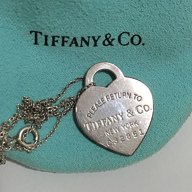 Genuine Tiffany Necklace