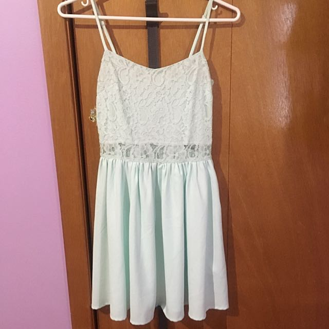 H&M Light Turquoise Dress