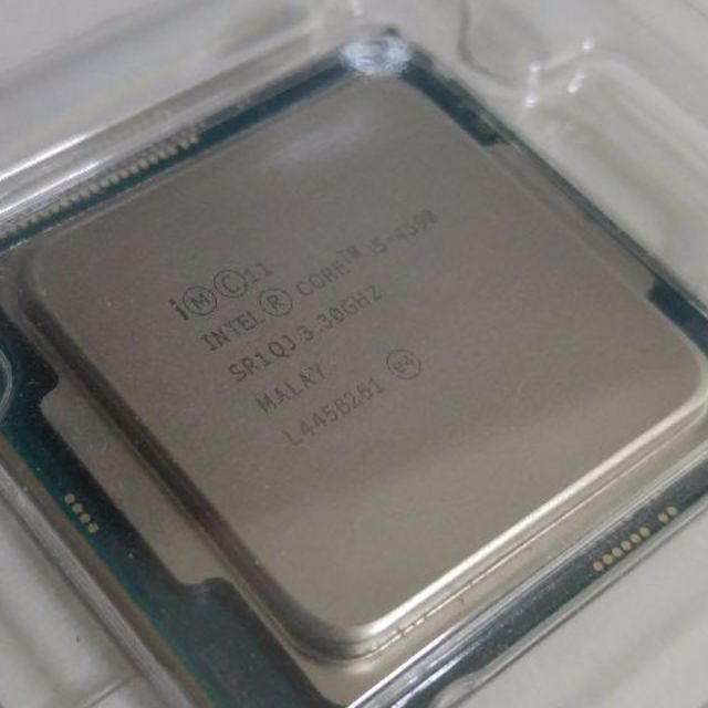 i5 4590 Haswell CPU 4th generation with unused stock cooler