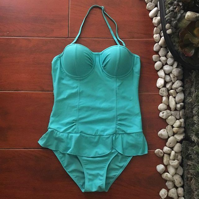 Swimwear: Joyful Turquoise