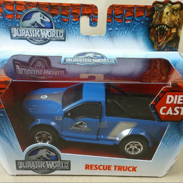 Jurassic World Diecast Toy Rescue Truck