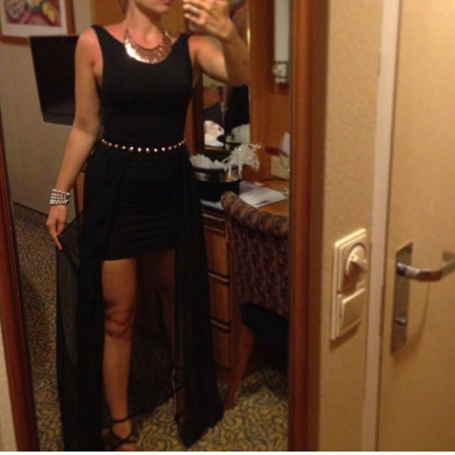 Kookai Black Dress Size 1