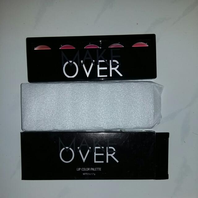 Make Over Lip Color Palette Peplum Pink