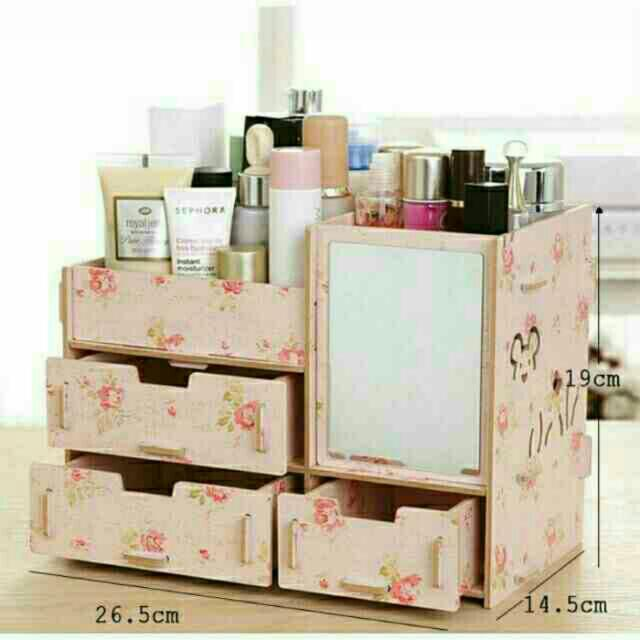 Make up Organizer (wood)