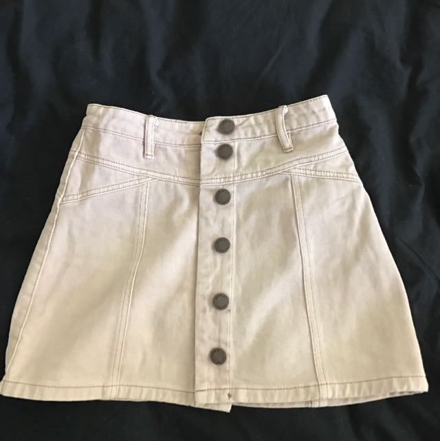 Mini Button up Skirt