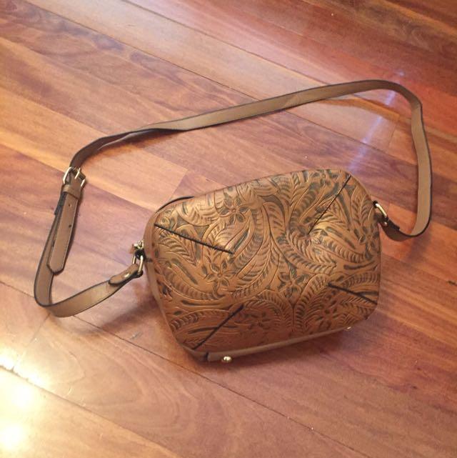 Mocha Brown Shoulder Bag